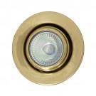 Halogen Deckenlampe 65mm, 32mm Messing